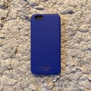 Kate Spade New York Blue Leather iPhone 6 Case